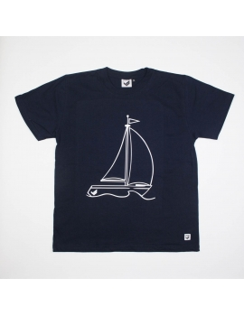T-Shirt Vela - Rapaz